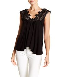 Analili - Pam Lace Detailed Top - Lyst