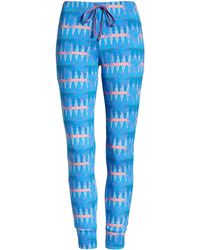 Honeydew Intimates Intimates Kickin' It French Terry Lounge Pants - Blue
