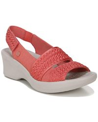 Bzees Fiona Weave Wedge Sandal - Multicolour