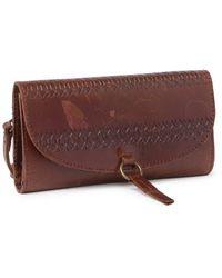 Cut N' Paste Goa Wallet On String - Brown