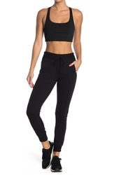 X By Gottex French Terry Jogger - Black