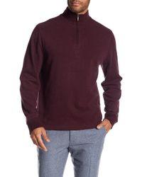 Brooks Brothers - Half Zip Sweater - Lyst