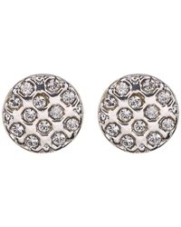 c.A.K.e. By Ali Khan - Swarovski Crystal Stud Earrings - Lyst