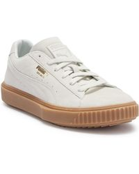 cf29d4bcf92f Lyst - PUMA Breaker Suede Gum Casual Sneakers From Finish Line for Men