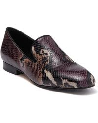 Donald J Pliner Luxx Snake Print Loafer - Multicolor