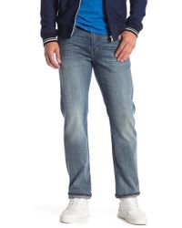 7 For All Mankind - Straight Fit Carsen Jeans - Lyst