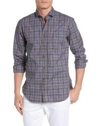 BOSS Orange - Cattitude Brushed Plaid Shirt - Lyst