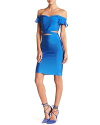 Wow Couture Top & Skirt 2-piece Set - Blue