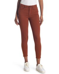 ModCloth Exceptional Staple Skinny Jeans - Red