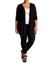 Vince Camuto - Long Sleeve Cardigan (plus Size) - Lyst