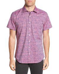 Rodd & Gunn - Regular Fit Island View Woven Shirt - Lyst