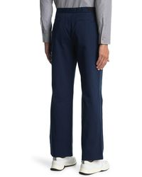 Maison Margiela Buckle Waist Pleated Pants - Blue