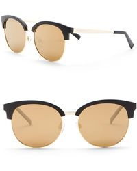 Cole Haan - 55mm Clubmaster Sunglasses - Lyst