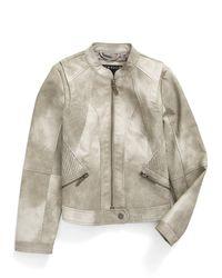 Bernardo - 'scarlet' Faux Leather Moto Jacket (big Girls) - Lyst