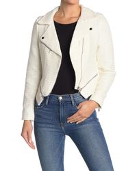 Love Token Ryder Front Zip Jacket - White
