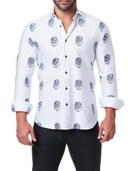 Maceoo - Fibonacci Trim Fit Shirt - Lyst