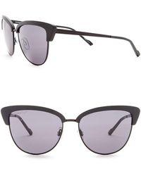 William Rast - 57mm Modified Cat Eye Sunglasses - Lyst