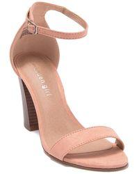 Madden Girl Bella Block Heel Sandal - Multicolour
