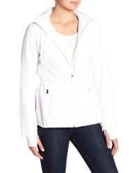 London Fog - Quilted Jacket - Lyst