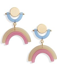 Madewell - Modern Arc Earrings - Lyst