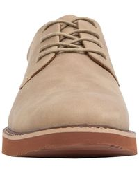 Deer Stags Walkmaster Leather Plain Toe Derby - Natural