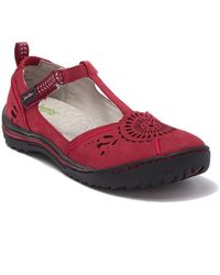 Jambu Sunkist Strappy Sneaker - Red
