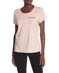 Marc New York - Embroidered Short Sleeve Tee - Lyst