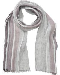 Tommy Bahama - Striped Linen Blend Wrap Scarf - Lyst
