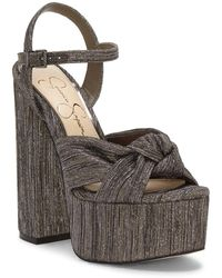 Jessica Simpson Alesta Platform Sandal - Metallic