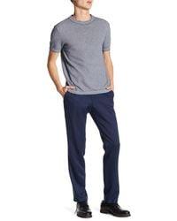 Kenneth Cole Reaction Urban Heather Slim Dress Pants - Blue
