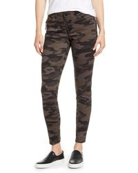 Wit & Wisdom Ab-solution Zip Pocket Skinny Pants - Multicolour