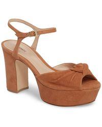 Schutz - Thalyta Platform Sandal (women) - Lyst