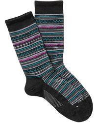 Feetures Santa Fe Ultimate Crew Socks - Multicolor