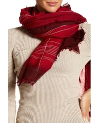 Frye - Degrade Stripe Virgin Wool Wrap Scarf - Lyst