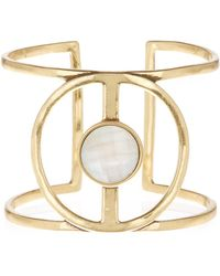 Lucky Brand Statement Cuff Bracelet - Metallic