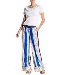 Badgley Mischka - Combo Stripe Pants - Lyst