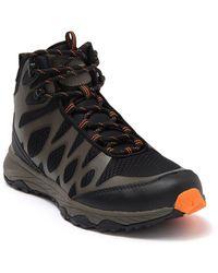 Khombu Vapor Mid Sneaker - Black