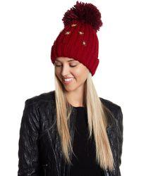 Cara - Jumper Deco Star Hat - Lyst