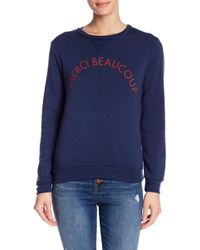 Project Social T - Merci Beaucoup Double Neck Pullover - Lyst