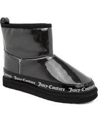 Juicy Couture Klash Faux Fur Lined Winter Boot - Black
