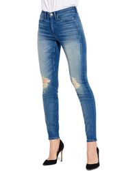 Ayr - The Skinny Ripped Jeans (wild Hearts) - Lyst