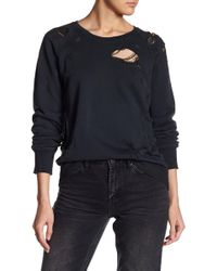 Sincerely Jules - Super Distressed Sweatshirt - Lyst