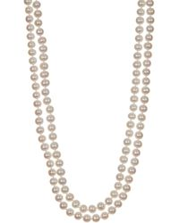 Splendid - Endless 6-7mm Freshwater Pearl Necklace - Lyst