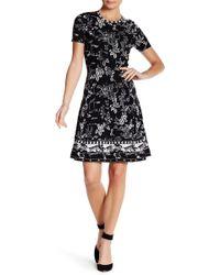 Vivienne Tam - Chinese Garden Knit Dress - Lyst