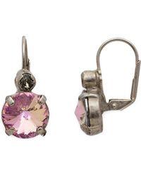 Sorrelli - Closed Circle Earrings - Lyst