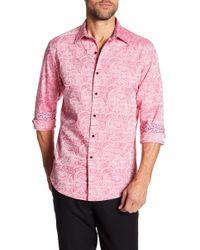 Robert Graham - Bell Gardens Long Sleeve Classic Fit Shirt - Lyst