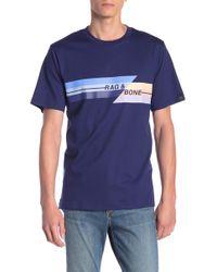 Rag & Bone - Glitch Regular Fit T-shirt - Lyst