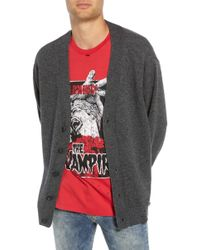 The Kooples - Distressed Cardigan - Lyst