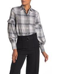 Robert Rodriguez Pauline Plaid Shirt - Multicolor