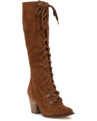 Chinese Laundry - Keepsake Knee-high Suede Boot - Lyst